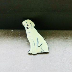 Yellow Golden/Labrador Retriever PinBoutique for sale